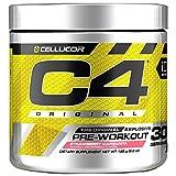 Cellucor C4 Original Pre Workout Powder Energy Drink w/Creatine, Nitric Oxide & Beta Alanine, Strawberry Margarita, 30 Servings