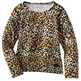 Hot Chillys Youth Orignals II Print Top (Cheetah Print, X-Small)