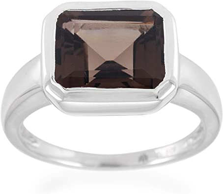 8 USA Ring size Women Rings Silver Plated Handmade Ring Beautiful Designer Ring Blue Quartz Ring Statement Ring
