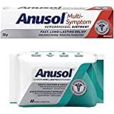 Anusol Hemmorrhoidal Ointment and Cleansing and Soothing Wipes Bundle Pack