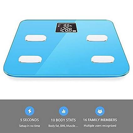 Mini Body Fat Scale App Control Bluetooth Smart Body Fat ...