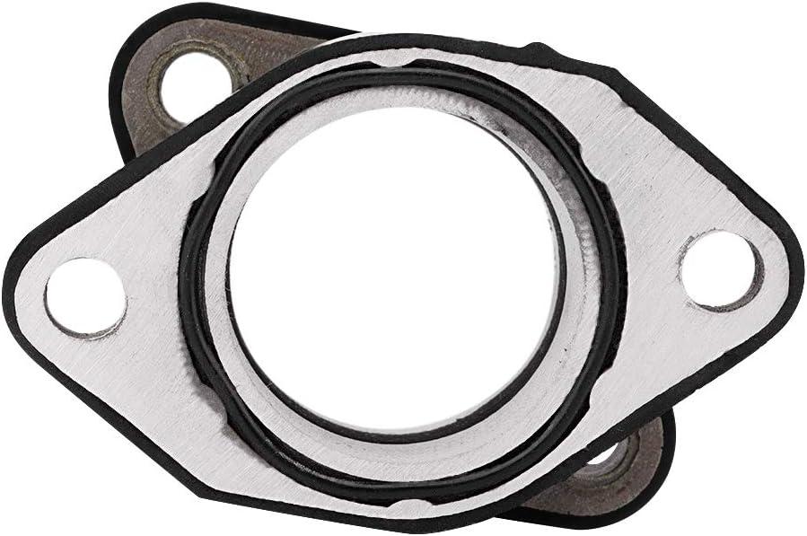 Hochwertiger Vergaser-Ansaugkr/ümmeradapter-Gelenkmanschette Gute Dichtleistung f/ür 350 YFM350X 1987-2004 Outbit-Vergaserschnittstelle