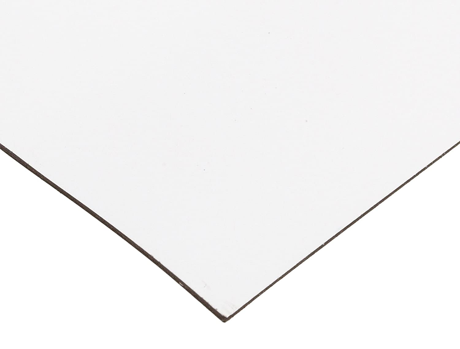 "Master Magnetics Magnet Sheet, Magnetic Paper, 12"" Wide, 24"" Long, White Vinyl Back, 08505"