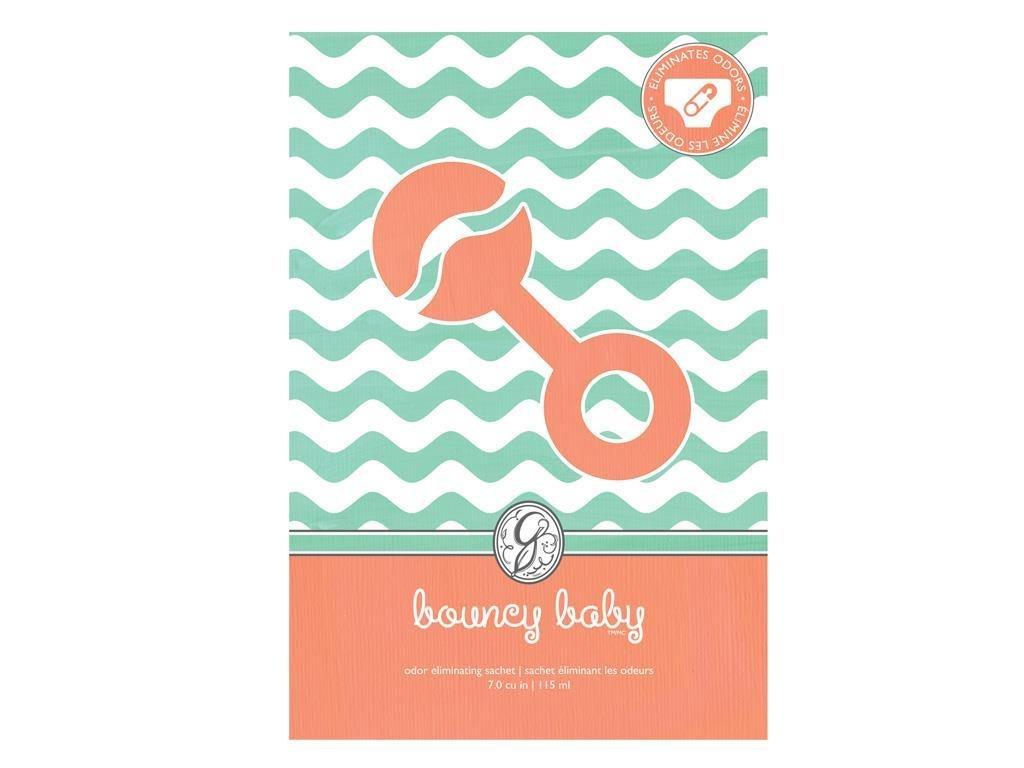 Greenleaf Baby Large Scented Fresh Paper Envelope Sachet - Bouncy Baby
