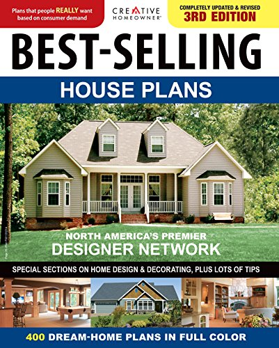BestSelling House Plans: 400 Dream Home Plans in Full Colour