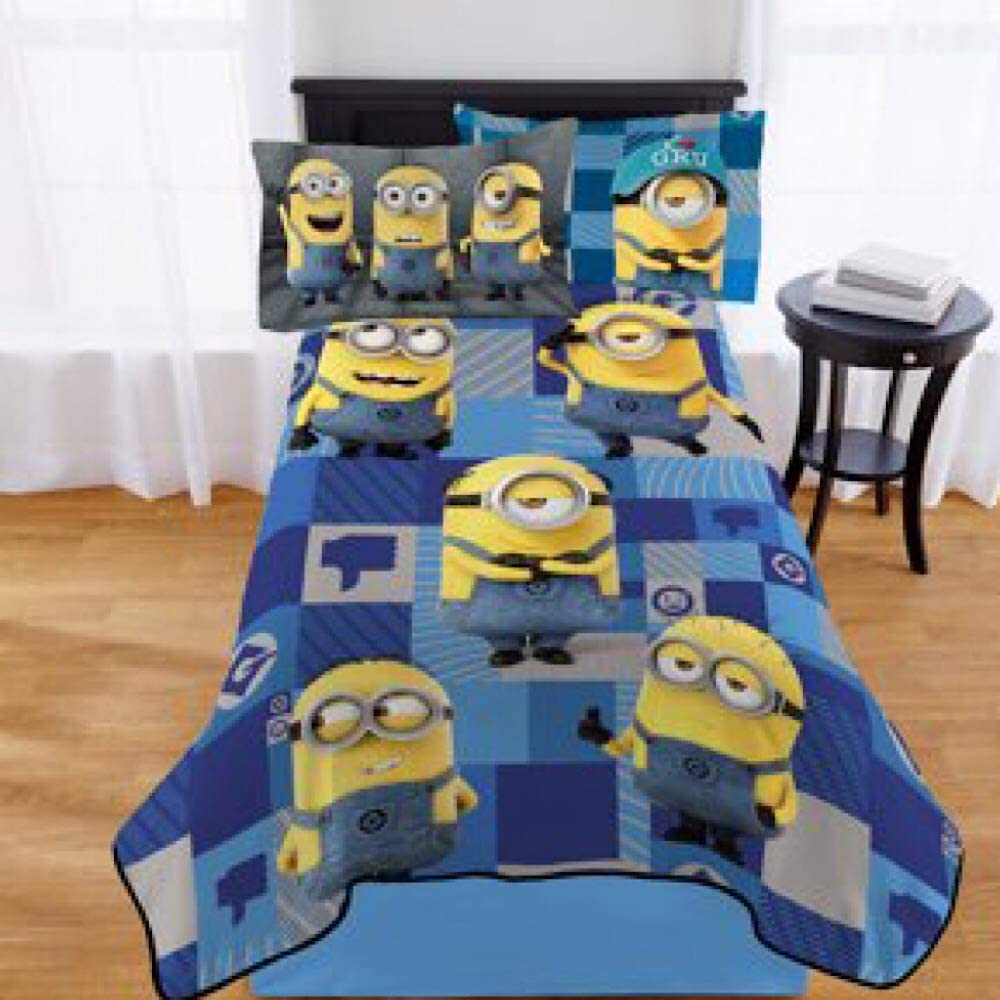 Minions Kids Twin Bedding Blanket
