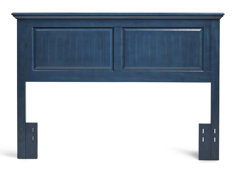 Mantua Arcadia Wood Headboard, Full/Queen, Vibrant Blue, HB45-CB by Mantua