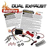 New BackFire Dual Universal Automotive Exhaust Flame Thrower Fire Throwing Kit Muffler