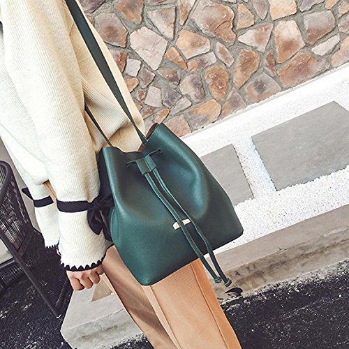 Tote Hobos Shoulder Handbag Green Purse Shoulder Bag Women Leather Satchel Bags Artificial Fashion New Aelove WnvZUHn