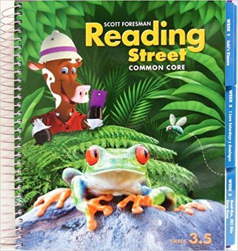 Scott Foresman Reading Street Common Core, Vol. 3.5, Teacher Edition