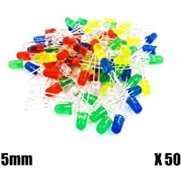 OcioDual Kit 50 Diodos LED 5mm Rojo Azul