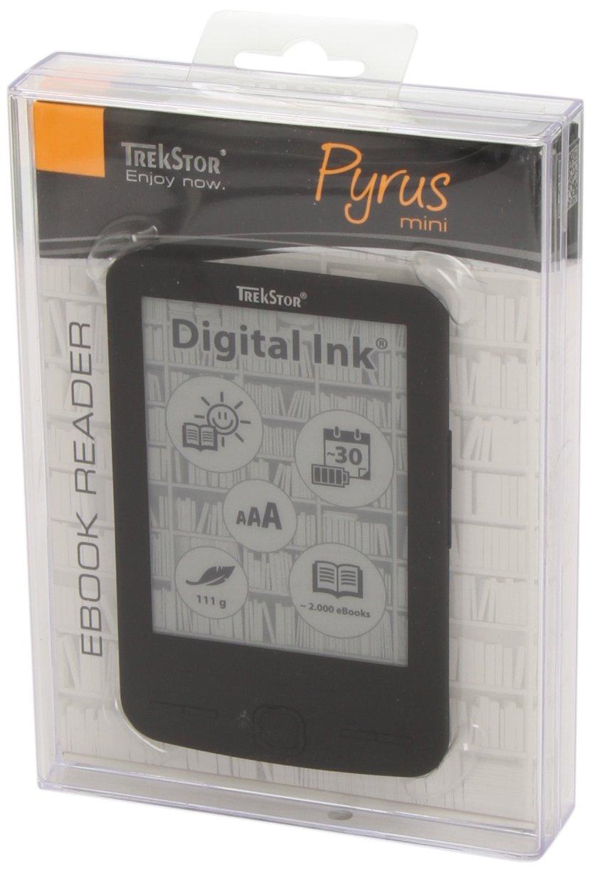 TrekStor Pyrus mini Black: eBook Reader mit 4.3