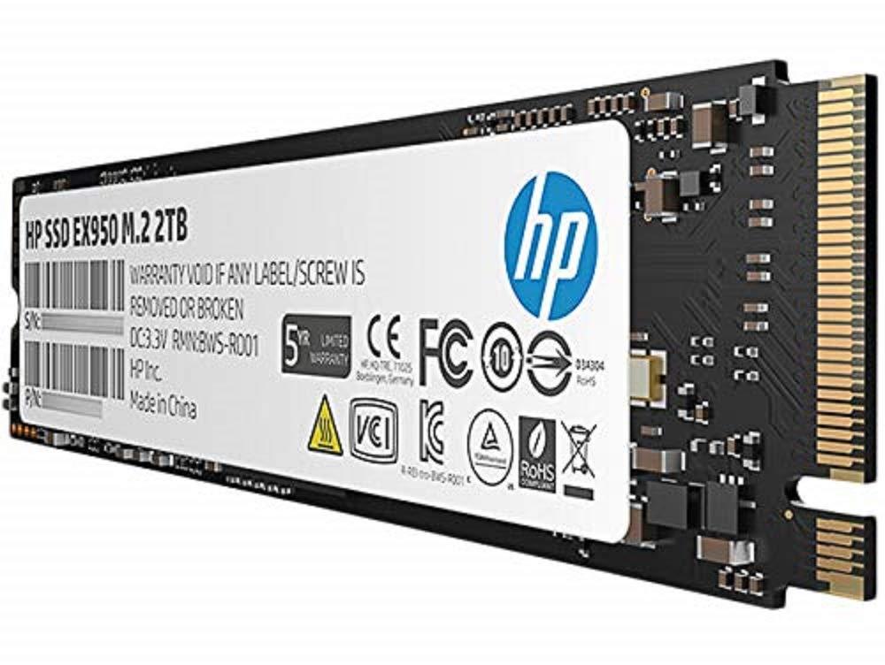Hewlett Packard EX950 Disco Duro Interno SSD 2TB 5MS24AA#ABB M.2 L ...