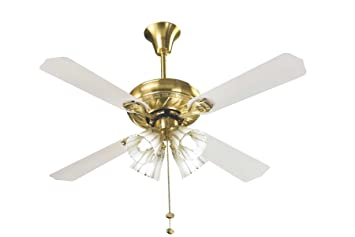 white and gold ceiling fan. vguard vgl gold 1200mm premium underlight ceiling fan (gold pearl white) white and amazon.in