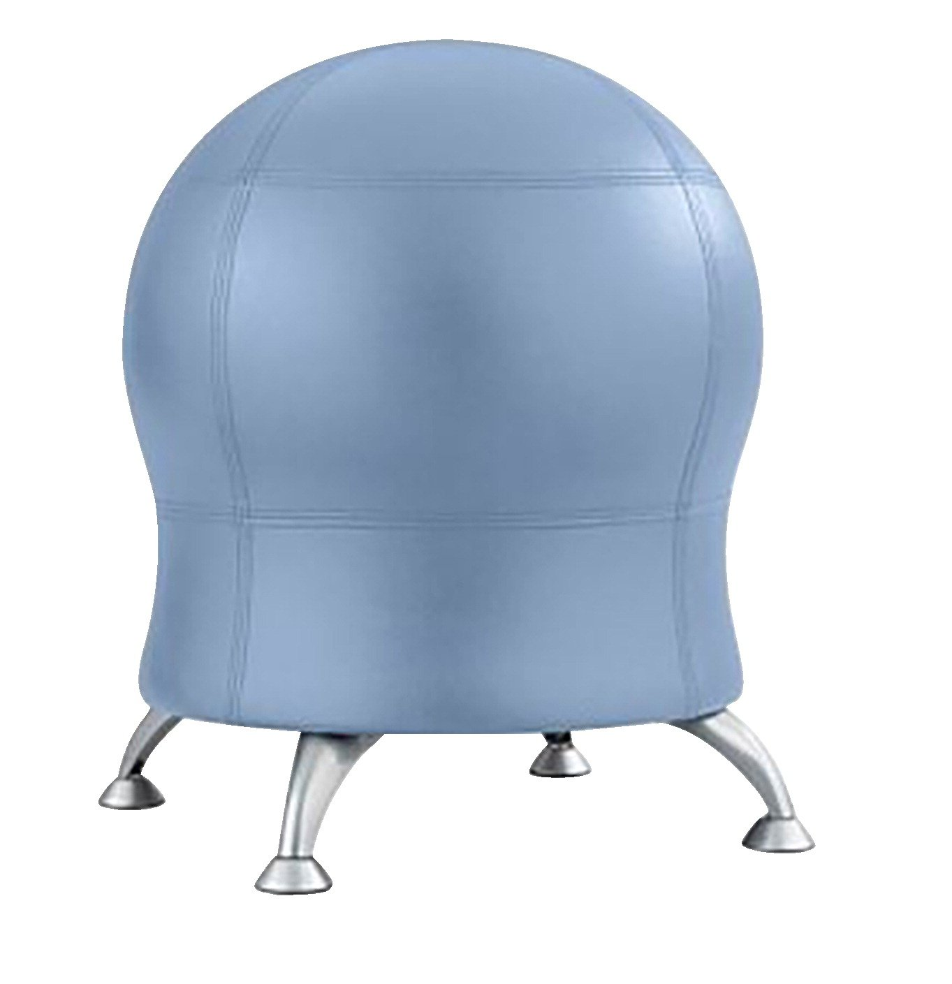 Safco Zenergy Vinyl Ball Chair, 22-1/2 x 22-1/2 x 23 Inches, Ocean by Safco