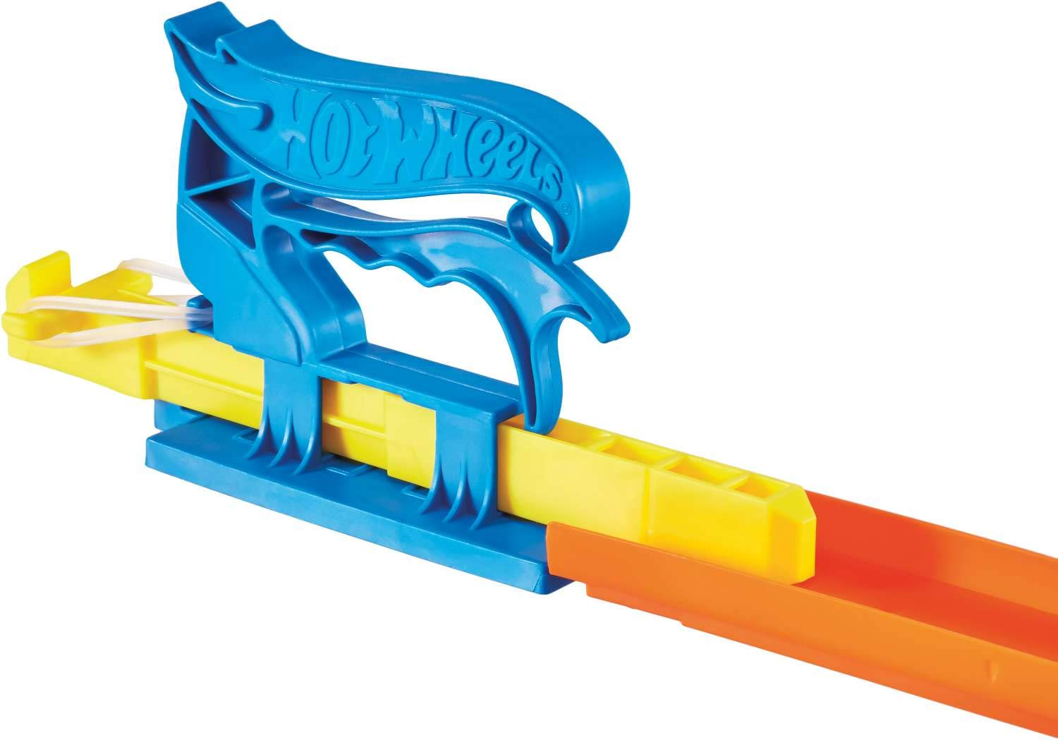 Hot Wheels Pocket Launcher Playset with Car Red