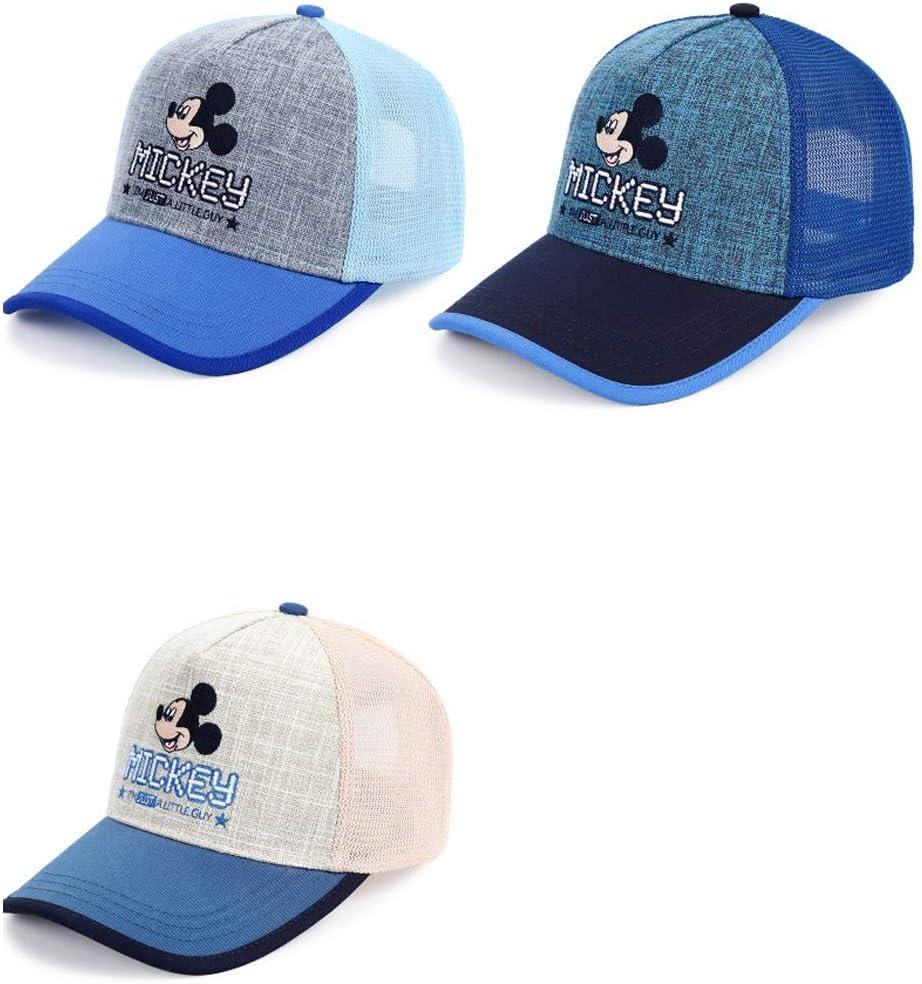 Hengtongtongxun Hat Blue//Hat Perimeter 52-54CM Latest Models Years Old Color : Style8, Size : 52cm 3-5 Sun Hat Cotton Mesh Sun Hat Outdoor Sports Cap
