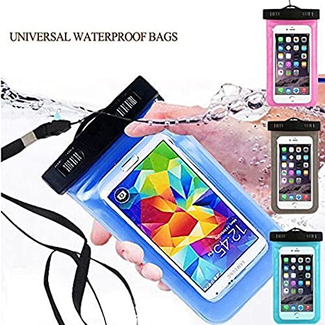 timeless design 5549f 814cc Riya Classified Waterproof Mobile Pouch Cover Bag Case: Amazon.in ...