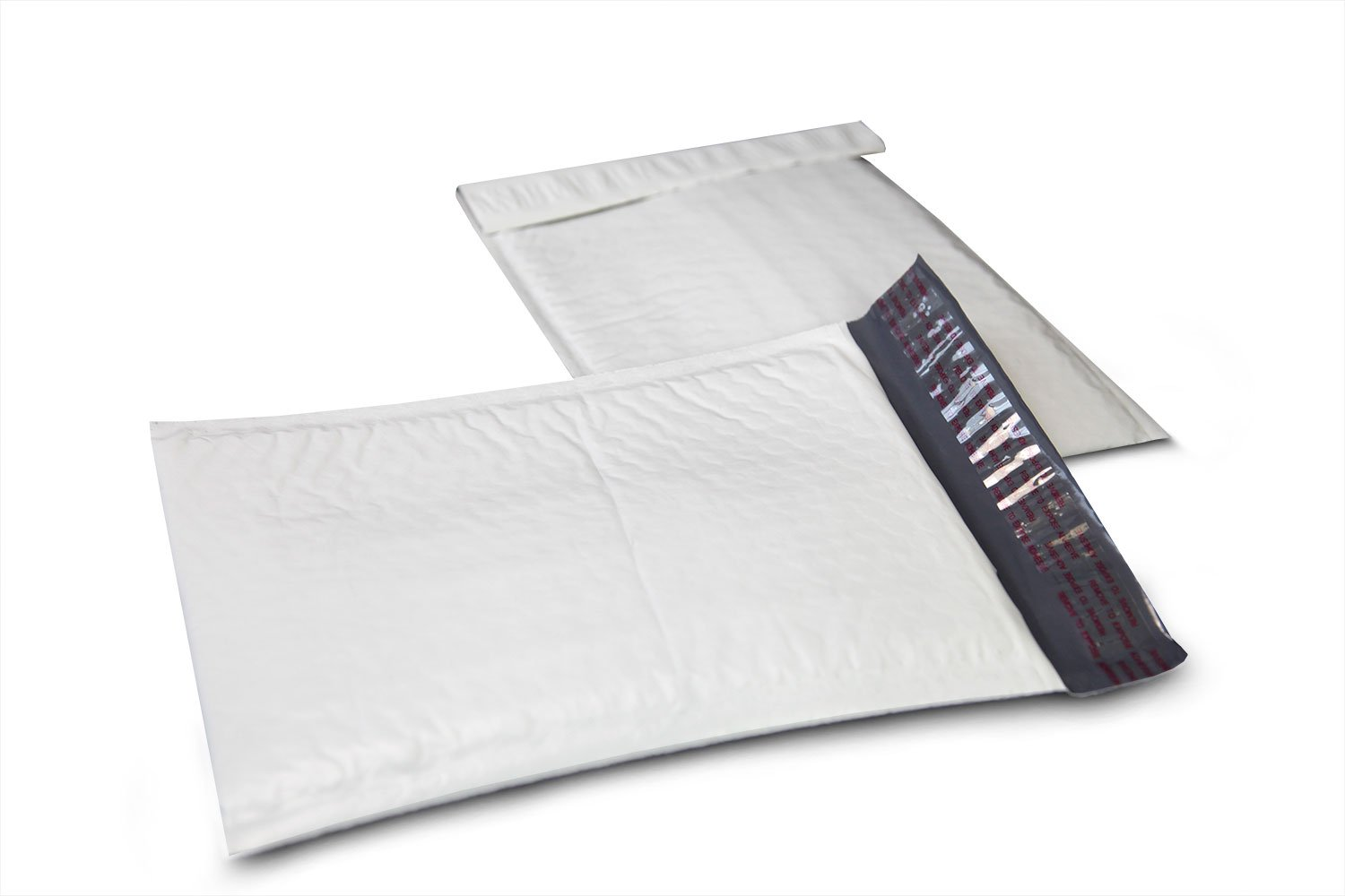 Empire Mailers - 200 (#000) 4 x 8 White Poly Bubble Mailers Self Seal Padded Shipping Envelopes - 200 Total Envelopes