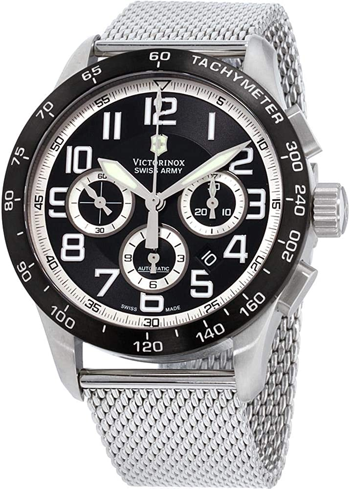 Victorinox AirBoss Mach 6 Chrono Automatic Men's Watch 241447.1