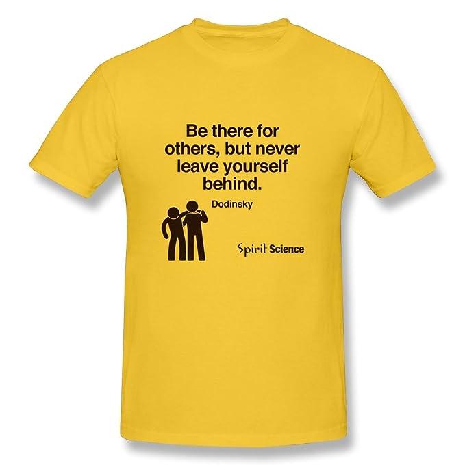 Spirit Science Quotes | Caitian Men S Spirit Science Quotes T Shirt Art T Shirt Yellow Us
