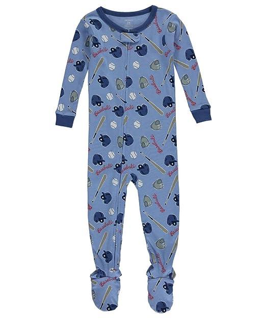 546a9dbd9bf0 Amazon.com  Carters Baby Boys Baseball Sleep   Play 12 Month Blue ...