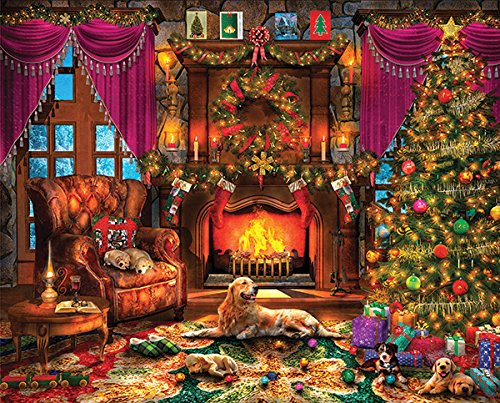 【大特価!!】 Springbok Made Puzzles - Cosy Christmas Puzzle - 1000 Piece by Jigsaw Puzzle - Large 60cm by 80cm Puzzle - Made in USA - Unique Cut Interlocking Pieces B07FD4B829, 協進ファニチャーランド:878d0675 --- a0267596.xsph.ru