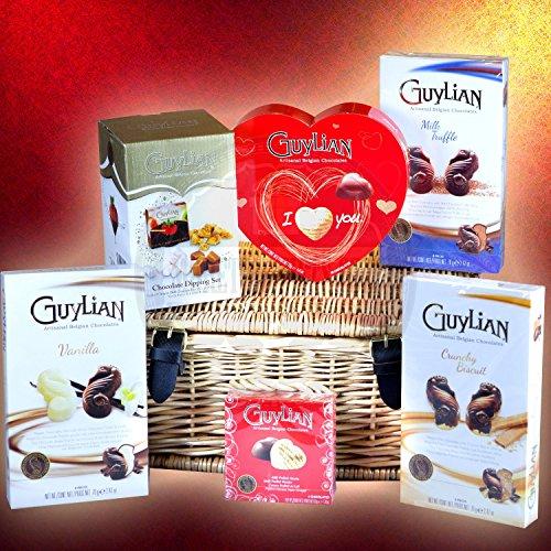 Guylian Guylian Valentine's Chocolate Luxury Gift Hamper