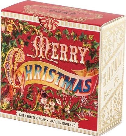 Amazoncom Michel Design Works Merry Christmas Little Soap