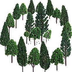 Bememo 22 Pieces Model Trees 1.18 - 6.29...