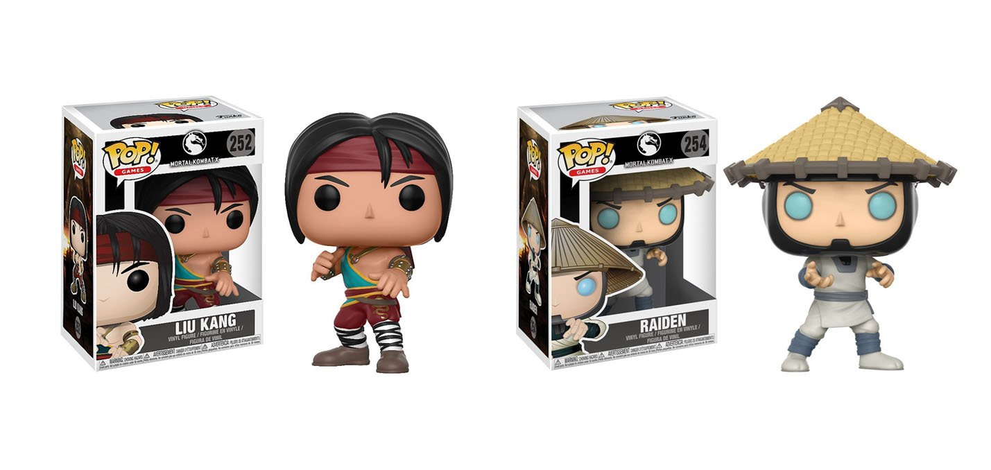 FLAWED BOX Mortal Kombat Raiden POP Vinyl Figure FUNKO