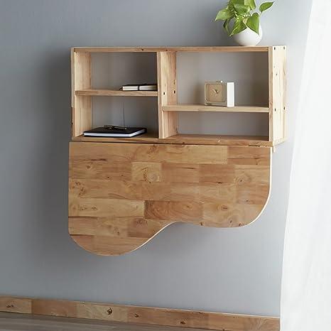Mesa nórdica de pared Mesa de estudio de madera Mesa ...