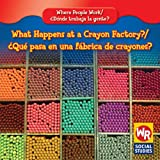 What Happens at a Crayon Factory?/¿Qué Pasa en una Fábrica de Crayones?, Lisa M. Guidone, 0836892798