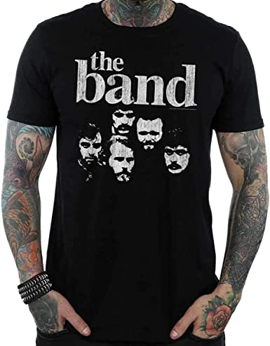 Rock Off The Band Faces Oficial Camiseta para Hombre: Amazon.es: Ropa y accesorios