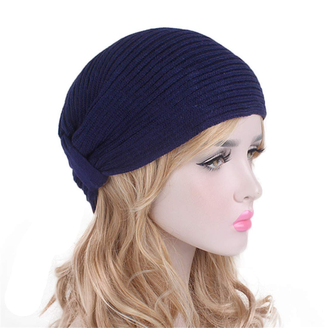 9ece9672398 ... Amazon.com Qhome Autumn Winter Ladies Woolen Caps Alloy Drill Headband  Clothing exquisite style b43a5 ...