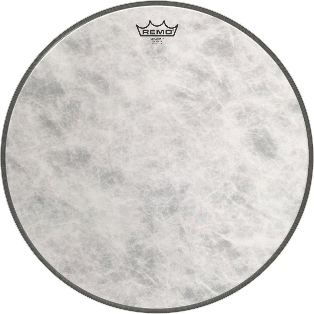 Remo FD-1518-00 18-Inch Fiberskyn 3 Diplomat Bass Drum Head