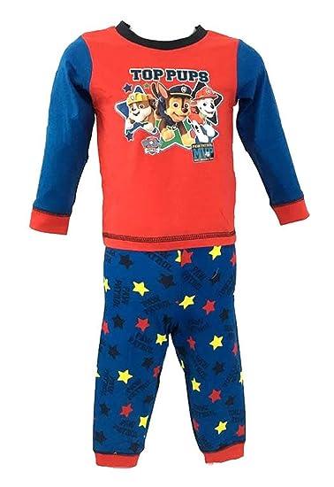 Character Clothing - Pijamas Enteros - para bebé niña Paw Patrol - Top-Pups Red/Blue: Amazon.es: Ropa y accesorios
