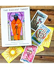 The Radiant Tarot: Pathway to Creativity (78 Cards, Full-Color Guide Book, Deluxe Keepsake Box))