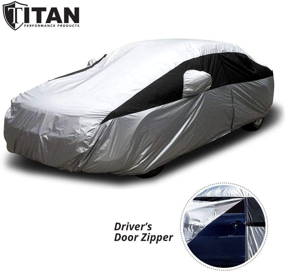 2. Titan Lightweight car cover