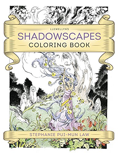 Llewellyn's Shadowscapes Coloring Book 2