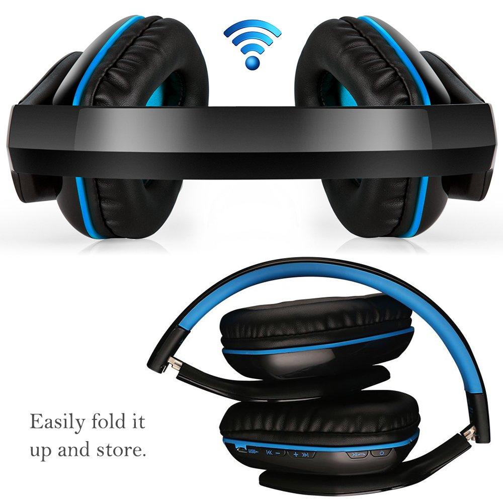 9d5fdcc3501 KOTION EACH B3506 Wireless Headset,V4.1 Bluetooth: Amazon.co.uk: Electronics
