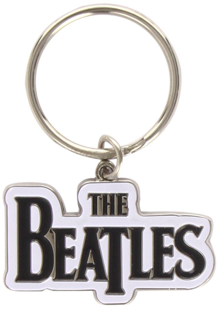 Llavero Beatles. Drop T Logo Keyring (Black)
