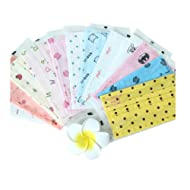 3 Layer Cartoon Printed Non-woven Fabric Disposable Surgical Dust Filter Ear Loop Mouth Cover Face Mask Pack of 30