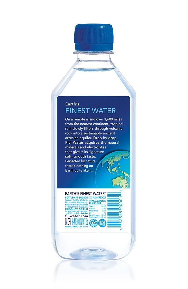 Amazon.com: FIJI Natural Artesian Water, 500mL Bottles: Grocery ...