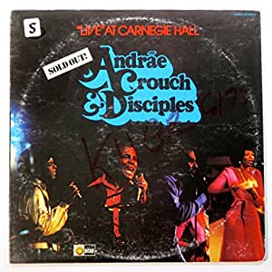 Live At Carnegie Hall, Andrae Crouch & Disciples, [Lp, Vinyl Record, Light, LS-5602]