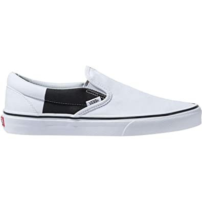 d8b1574040 Vans Mens Old Skool Color Block True White Black Size 5