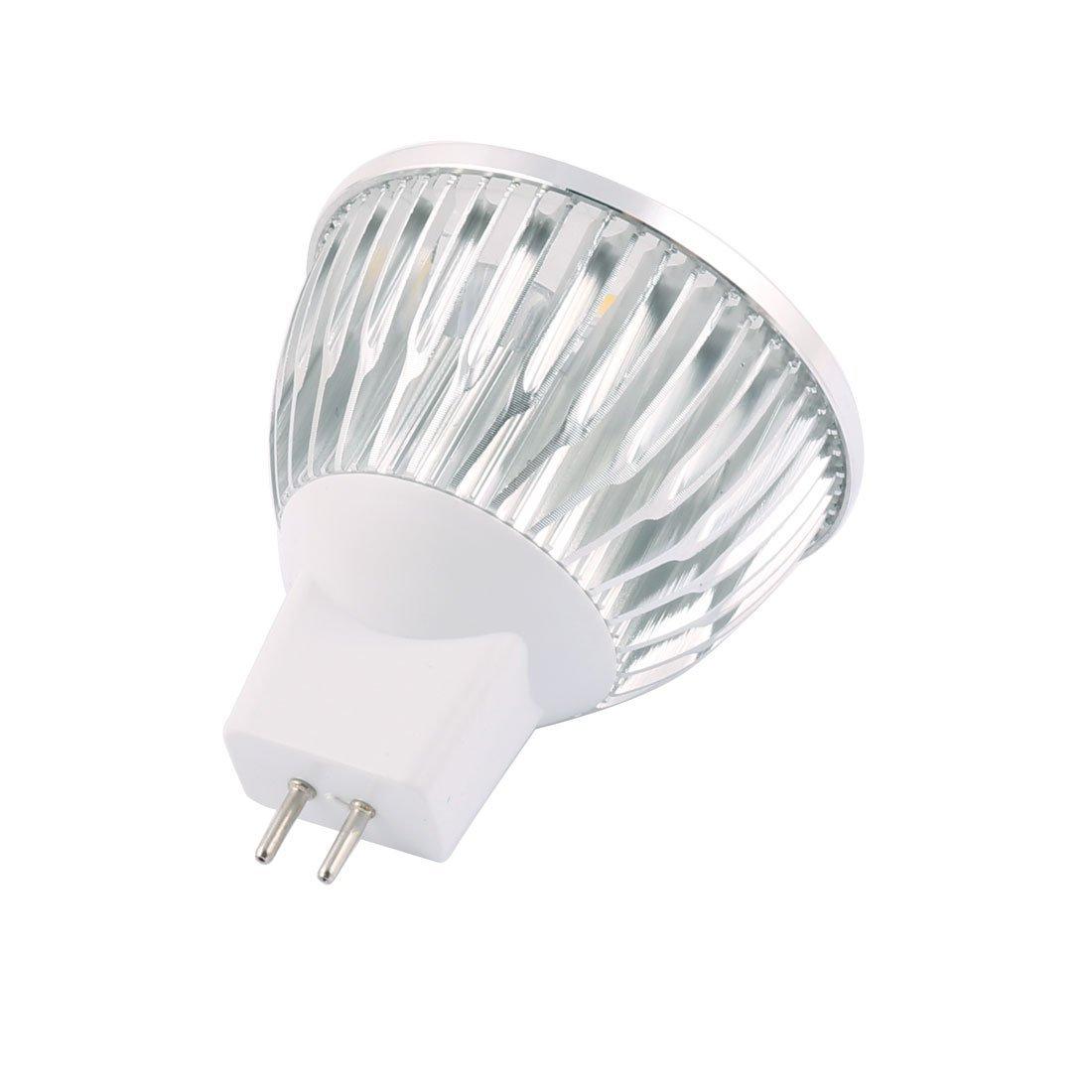 eDealMax DC 12V 4W MR16 4 LED ultra brillante COB bulbo del proyector de Downlight ahorro de energía blanco puro - - Amazon.com