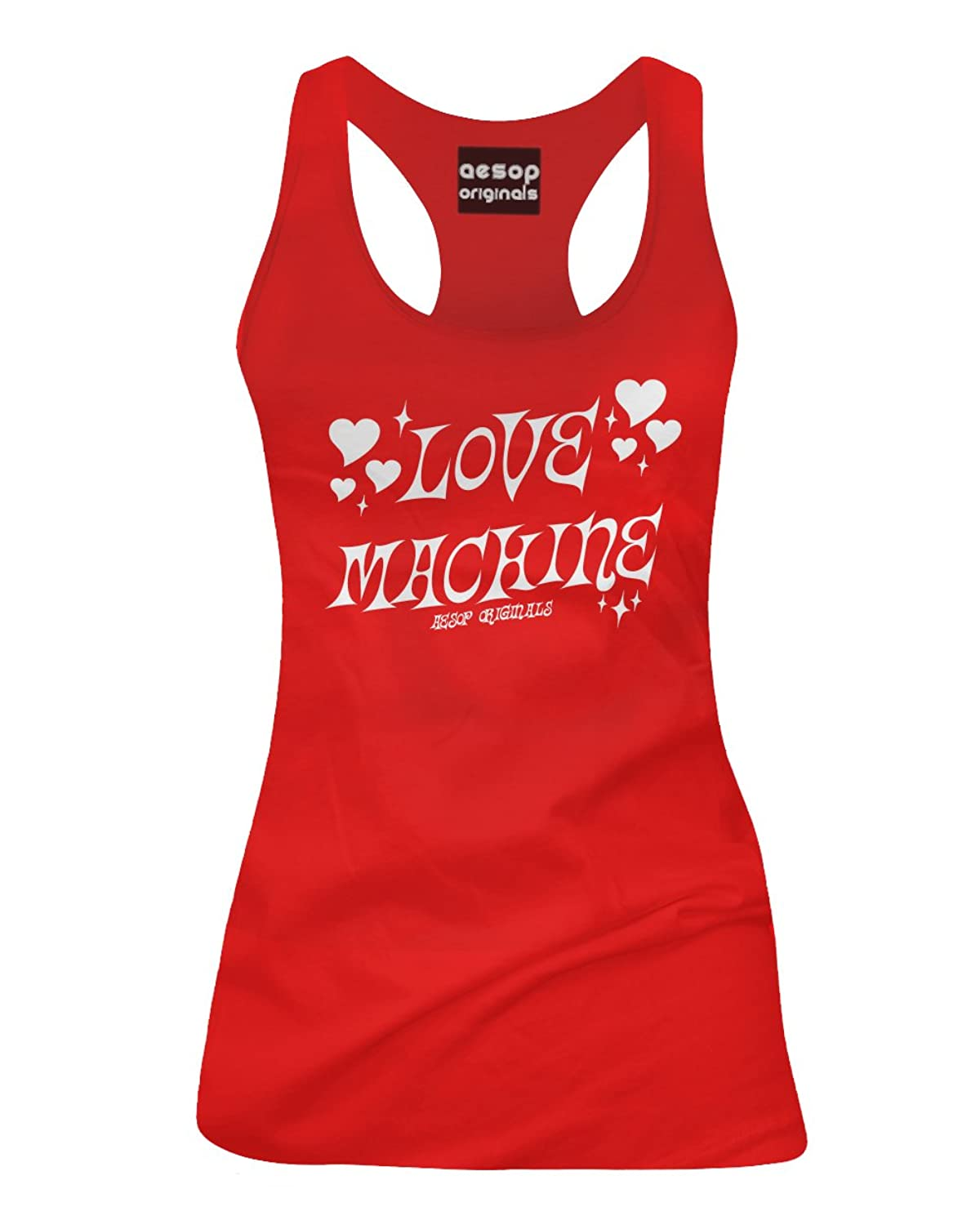 Aesop Originals Women's Love Machine Tank Top Red