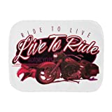 Royal Lion Baby Burp Cloth Live to Ride Ride to