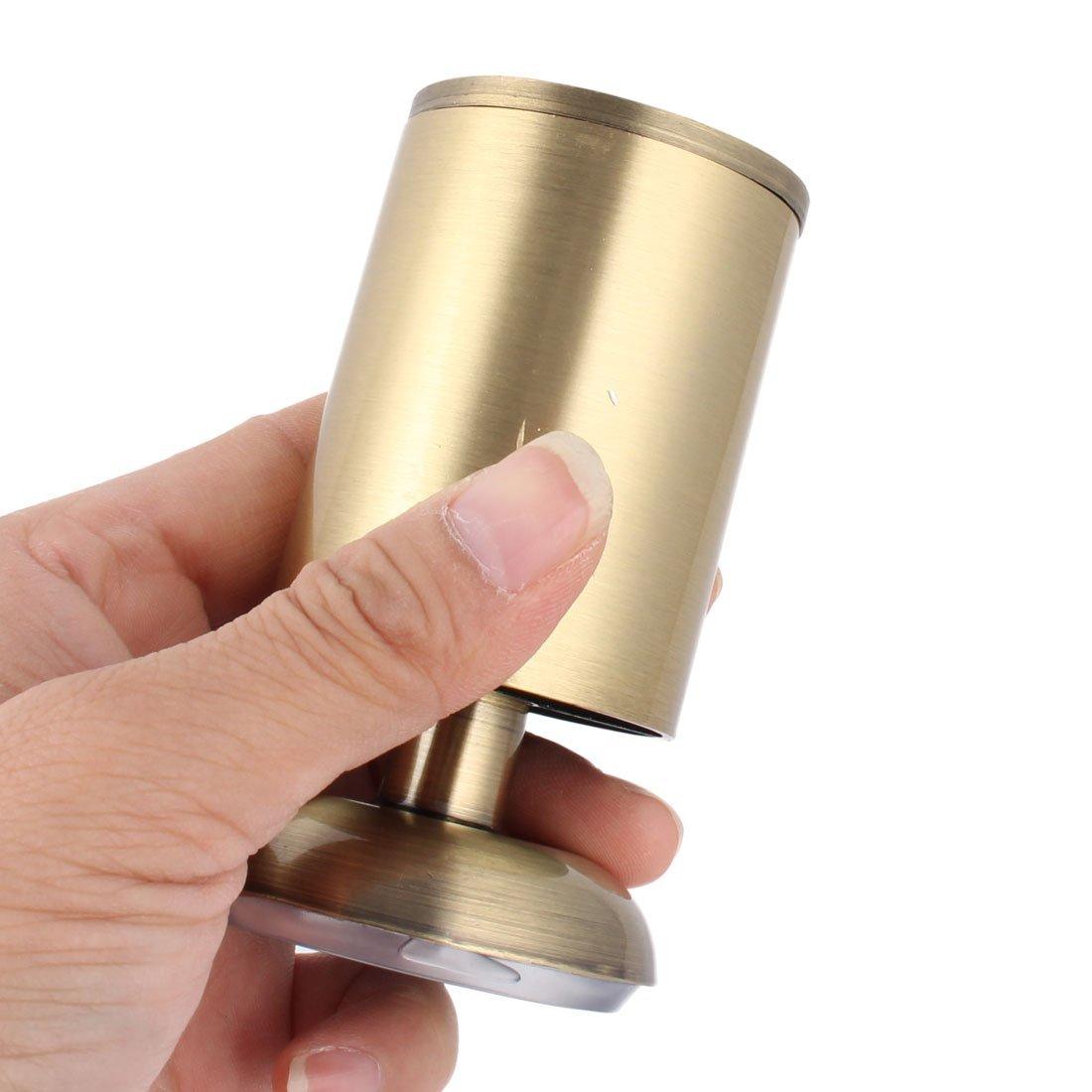 Forma eDealMax metallo mobili a corpo Armadio rotonda regolabile piede piedino 100 millimetri di tono del bronzo